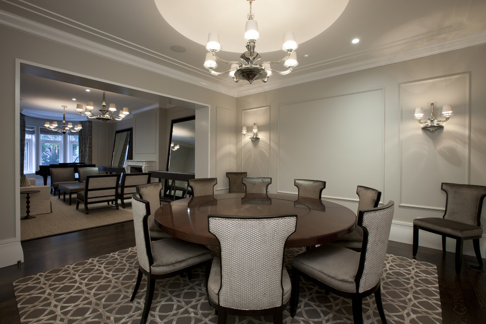 Amazing 60 Inch Round Dining Room Table 60 Inch Round Dining Table Dining Room Contemporary With Area Rug