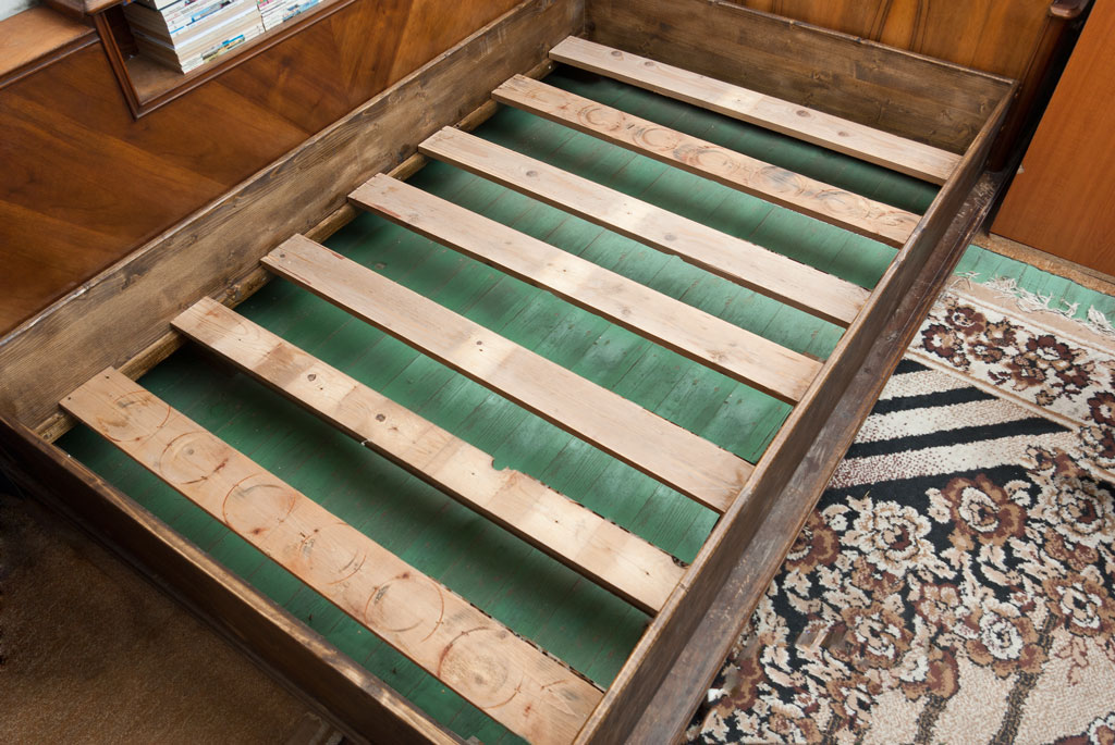 Amazing Add Slats To Bed Frame How To Build A Wooden Bed Frame 22 Interesting Ways Guide Patterns