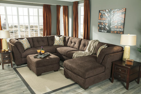 Amazing Ashley Furniture L Couch Living Rooms At Mattress And Furniture Super Center