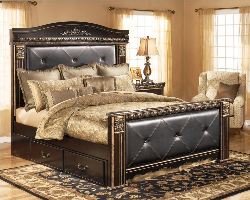 Amazing Ashley King Platform Bed King Sleigh Bed Bedroom Sets Nurseresume