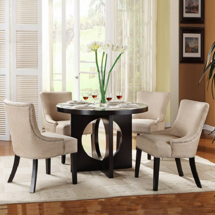 Amazing Black And Cream Dining Chairs Remarkable Dining Room Sets Black Leg Beige Decorative Dining