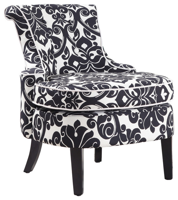 Amazing Black And White Accent Chair Fashionable Idea Accent Chairs Black And White Black And White