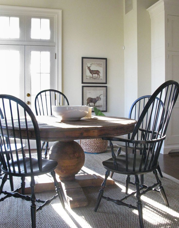 Amazing Black Kitchen Chairs 31 Best Black Windsor Chairs Images On Pinterest Dining Area