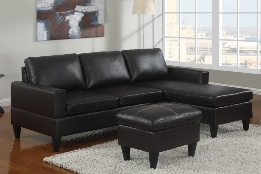 Amazing Black Sectional Sofa With Chaise 13 Sectional Sofas Under 500 Several Styles