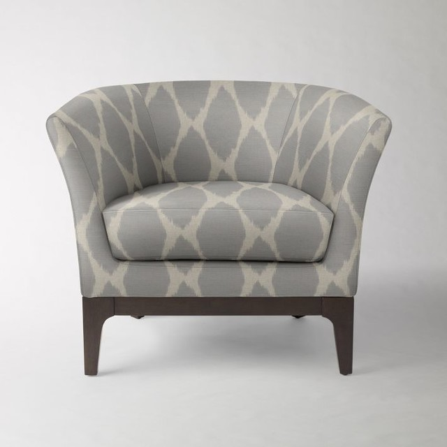 Brilliant Blue And Gray Accent Chairs Addison Blue Accent Chair