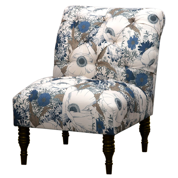 Amazing Blue And Gray Accent Chairs Floral Accent Chair Facil Furniture