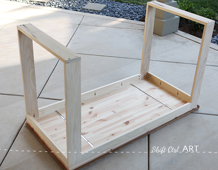 Amazing Build Modern Desk Ikea Hack How To Build A White Desk With A Miter Saw And A Kreg Jig