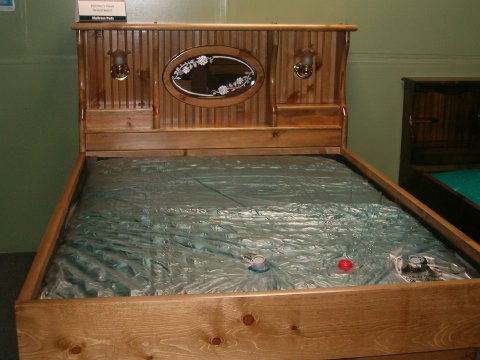 Amazing California King Size Waterbed Mattress Crestwood Hardside Waterbeds From Waterbeds Etc
