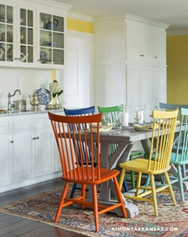 Amazing Colored Chairs For Kitchen Kitchen Chairs Furniture Captainwalt