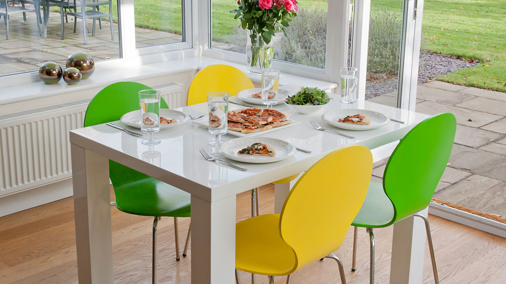 Amazing Coloured Dining Room Chairs 4 Seater Dining Set White Gloss Table Coloured Chairs Uk