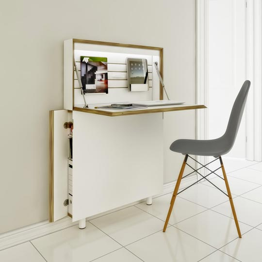Amazing Compact Office Furniture Short On Space Try These Compact Home Office Desks