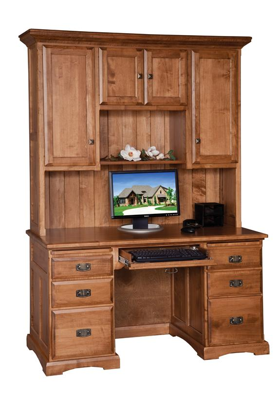 Amazing Computer Desk With Hutch 55 Computer Desk With Hutch From Dutchcrafters Amish Furniture