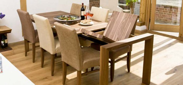 Amazing Contemporary Dining Tables Extendable Contemporary Dining Tables Oak Walnut Bespoke Contemporary Tables