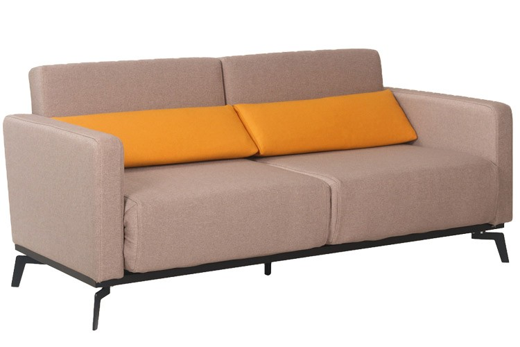 Amazing Convertible Sofa Bed Queen Size Adonis Queen Contemporary Futon Sofabed Sleeper Grey The Futon Shop