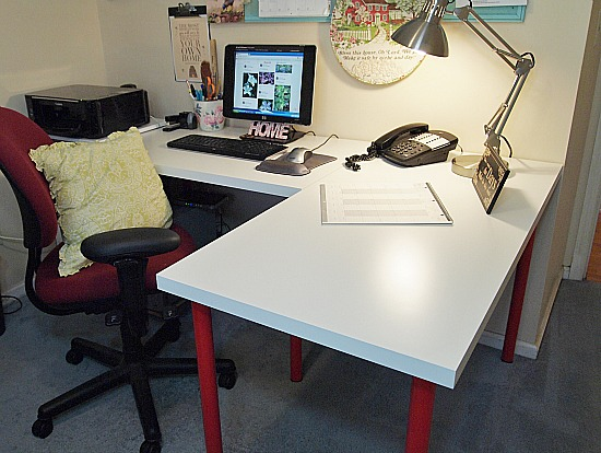 Amazing Design Your Own Desk Ikea Decorations I Made For My Office Makeover A Cultivated Nest