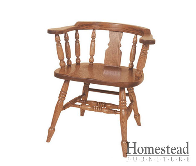 Amazing Dinette Chairs With Arms Windsor Low Arm Dining Chair Homestead Furniture