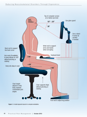 Amazing Ergonomic Computer Station Reducing Musculoskeletal Disorders Through Ergonomics