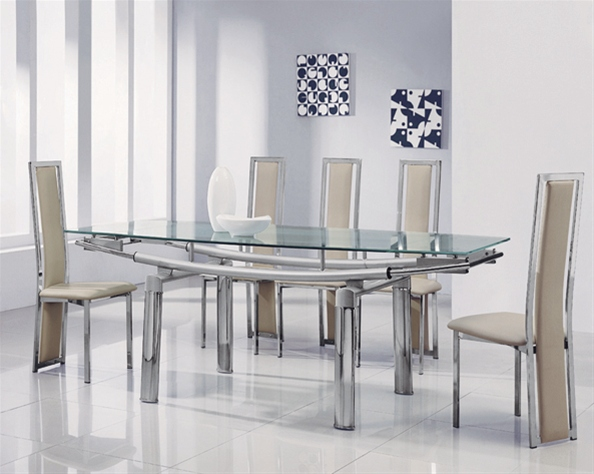 Amazing Extending Glass Dining Table And Chairs Delta Mega Extending Glass Dining Table Glass Dining Table And Chairs