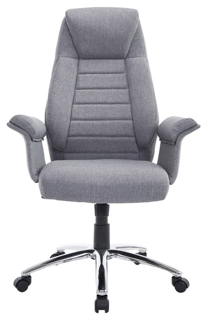 Amazing Fabric Office Chairs Homcom High Back Fabric Executive Office Chair Contemporary
