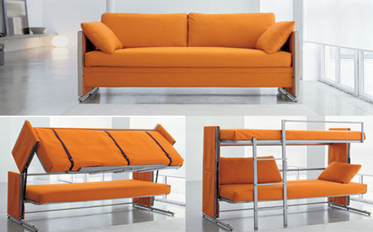 Amazing Fold Out Couch Bed Bonbons Brilliant Doc Sofa Transforms Into A Bunk Bed In A Snap