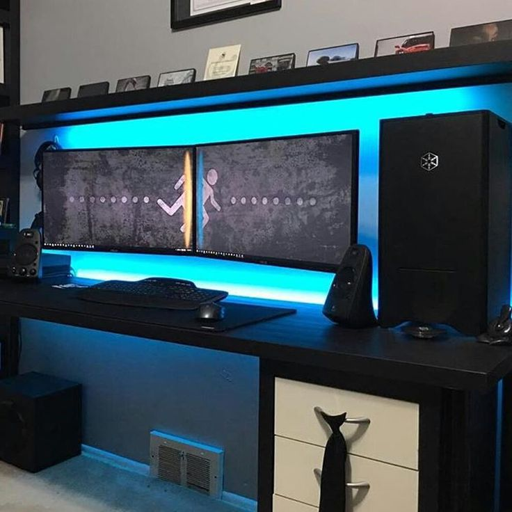 Amazing Gaming Computer Desk Setup Stunning Gaming Computer Desk Setup Best Ideas About Gaming Desk