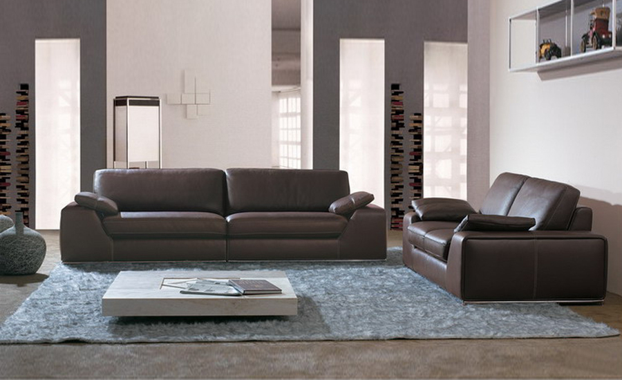 Amazing Genuine Leather Sofa Set Large Size American Design Classic Genuine Leather Sectional Sofa