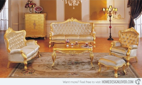 Amazing Gold Living Room Chairs Gold Living Room Furniture Foter