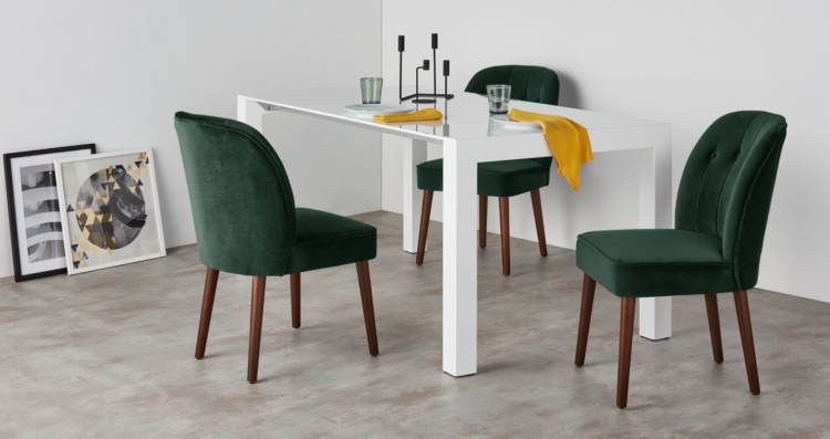 Amazing Green Dining Chairs 5 Best Velvet Dining Chairs Mad About The House