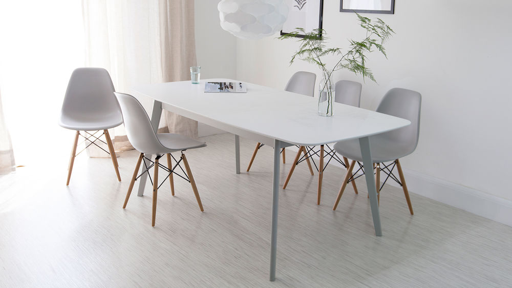Amazing Grey And White Dining Chairs Grey And White Dining Room Table Inspiring With Grey And Exterior