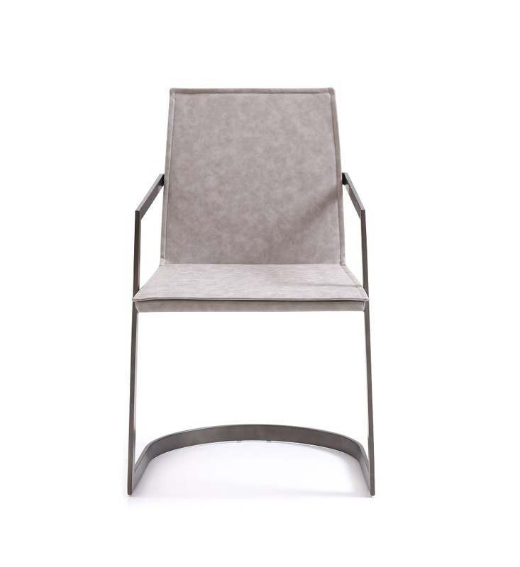 Amazing Grey And White Dining Chairs Jago Modern White Wash Grey Dining Chair Set Of 2