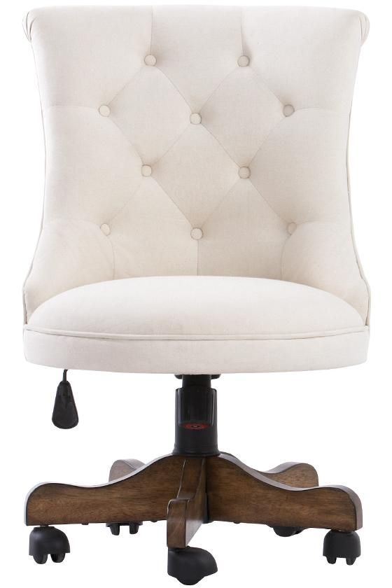 Amazing Home Desk Chair White Tufted Office Chair Crafts Home