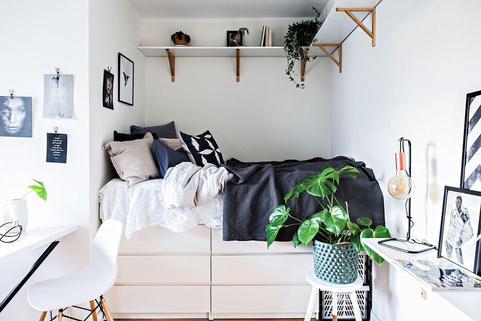Amazing Ikea Bed And Dresser 21 Best Ikea Storage Hacks For Small Bedrooms
