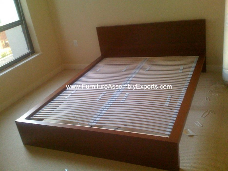 Amazing King Bed Slats With Center Support Bed Frames Wallpaper Hi Def How To Assemble Metal Bed Frame With