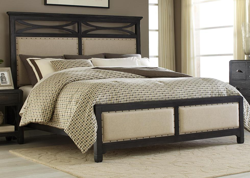Amazing King Size Upholstered Headboard And Footboard Fabulous King Size Bed Headboard And Footboard Alternative Of