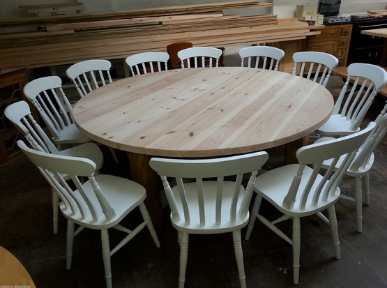 Amazing Large Circular Dining Table Lovely Decoration Large Round Dining Table Surprising Idea Large