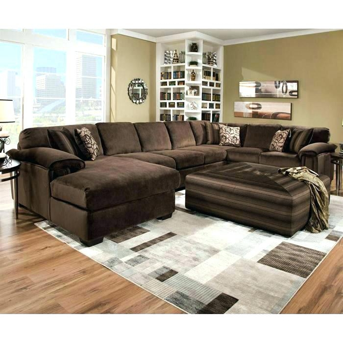 Amazing Large Sectional Sofa With Ottoman Living Room Ottoman Large Size Of Sofas Centerred Leather