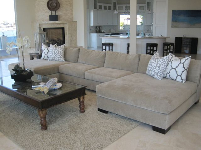 Amazing Large Sofa With Chaise Lounge 68 Best Couch Images On Pinterest Living Room Living Room Ideas