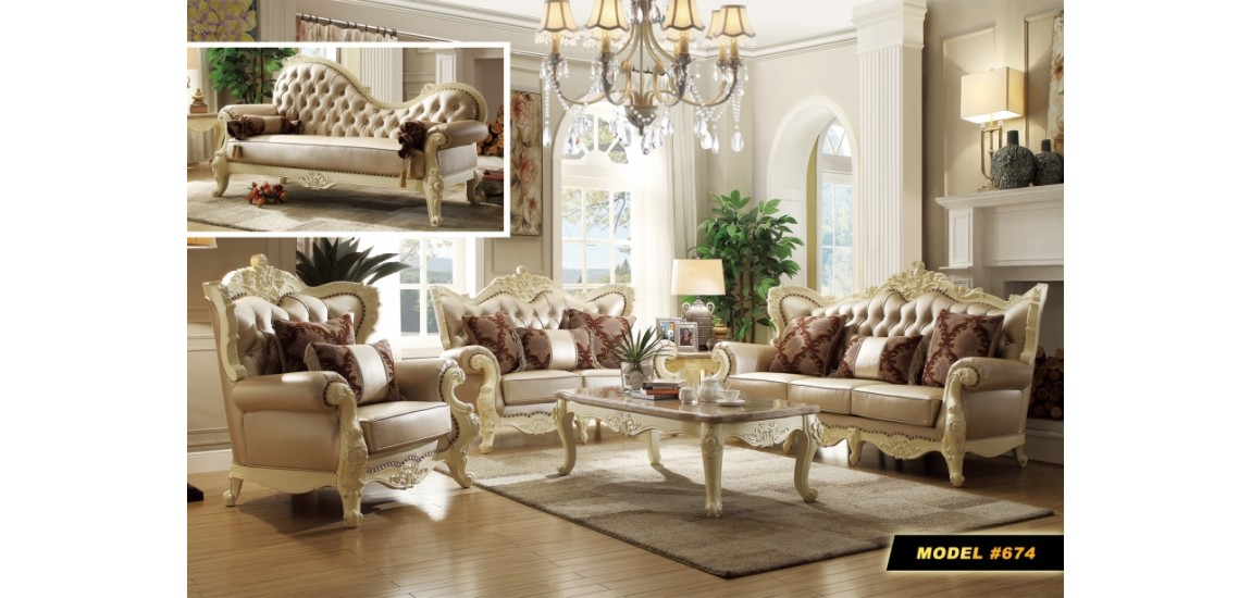 Amazing Leather And Wood Living Room Sets Cream Wood Trim Pearl Leather Living Room Set 674