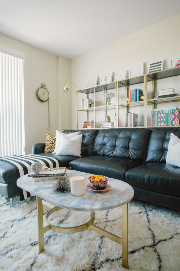 Amazing Leather Couch Living Room How To Decorate A Living Room With A Black Leather Sofa Decoholic