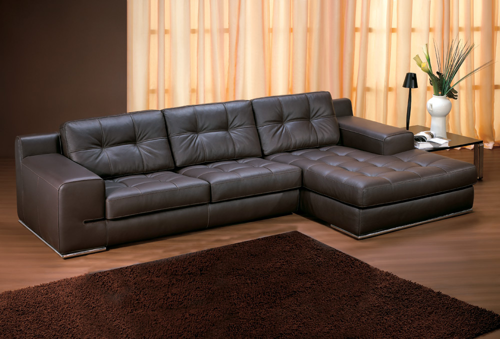 Amazing Leather Sofa With Chaise Lounge How To Clean A Chaise Lounge Leather Marku Home Design