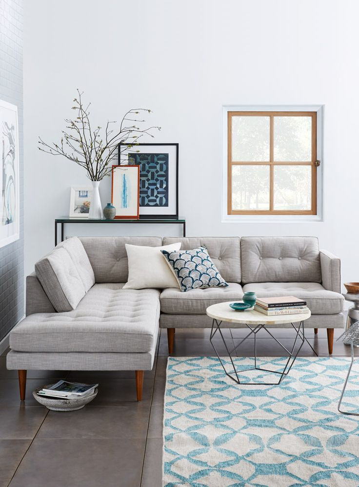 Amazing Light Grey Sectional Couch Best 25 Gray Sectional Sofas Ideas On Pinterest Green Living