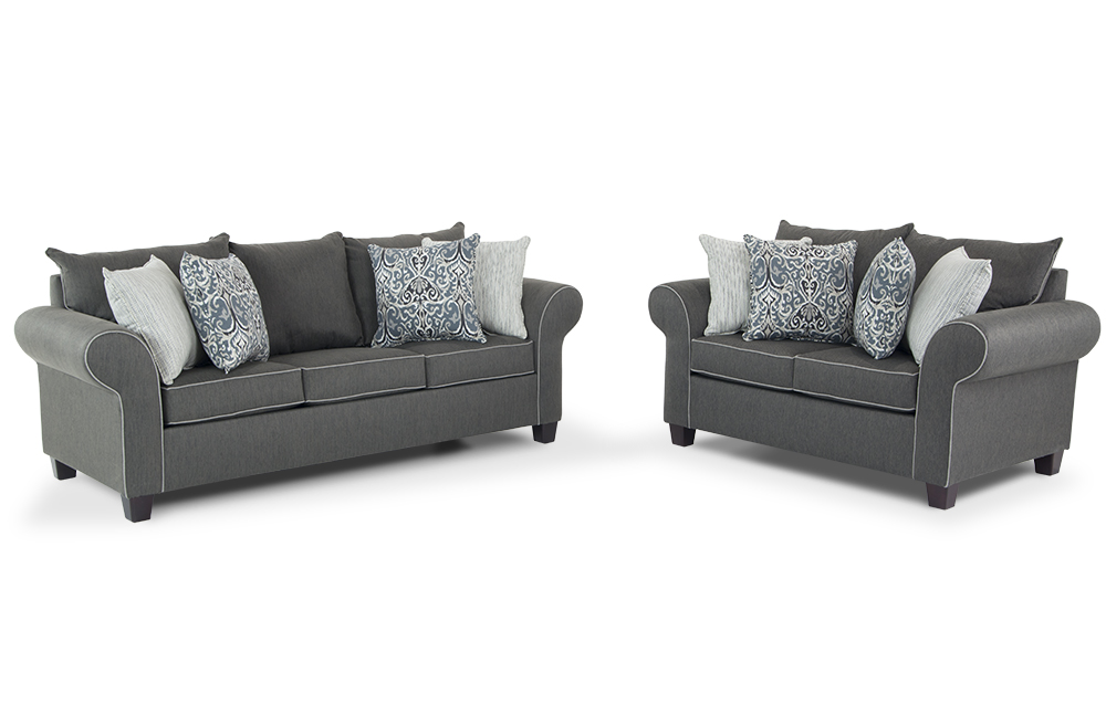 Amazing Living Room Sofa And Loveseat Ashton Sofa Loveseat Bobs Discount Furniture