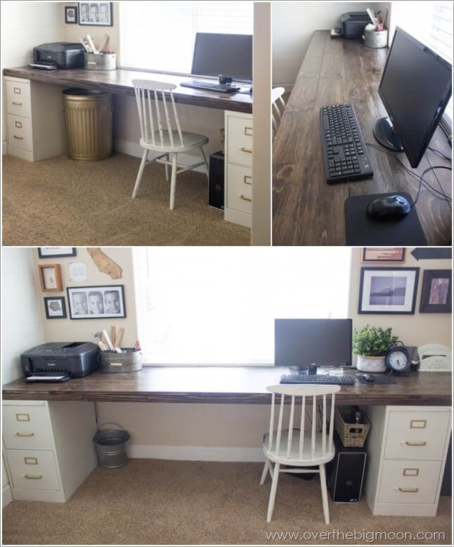 Amazing Long Computer Desk Best 25 Long Computer Desk Ideas On Pinterest Diy Crafts Best