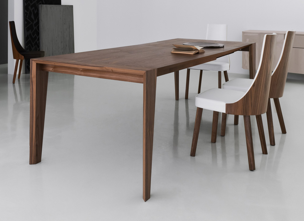 Amazing Modern Extendable Dining Table Extendable Dining Table And Chairs Magnificent 20 Plus Walnut