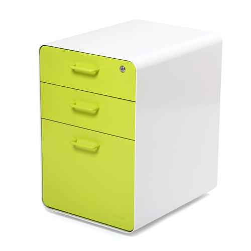 Amazing Modern File Cabinet File Cabinets 3 Drawer Option Green Color