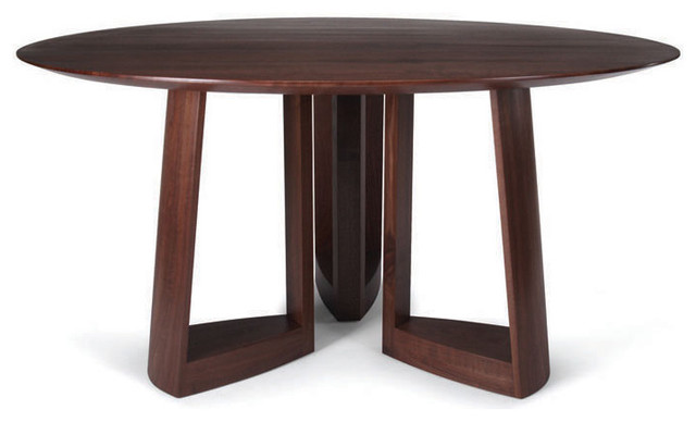 Amazing Modern Round Wood Dining Table Brilliant Ideas Modern Round Dining Tables Sensational Inspiration