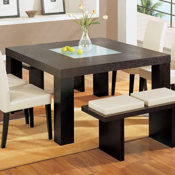 Amazing Modern Square Dining Table Nice Square Dining Room Tables With Modern Square Dining Table