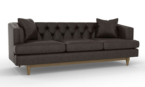 Amazing Modern Tufted Leather Sofa Sofa Decorative Tufted Modern Leather Sofa Chester Sofajpg