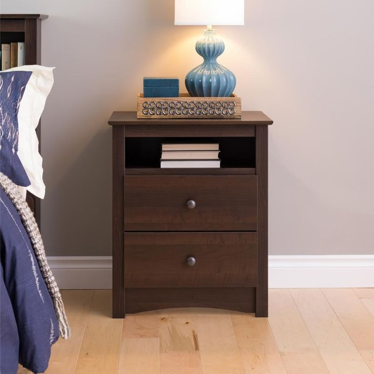Amazing of 18 Inch Bedside Table 16 Inch Wide Nightstand Nightstands And Bedside Tables Houzz