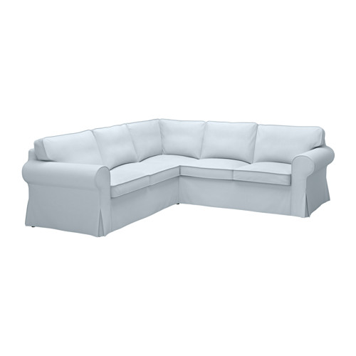 Amazing of 4 Seat Sectional Sofa Ektorp Sectional 4 Seat Corner Nordvalla Light Blue Ikea